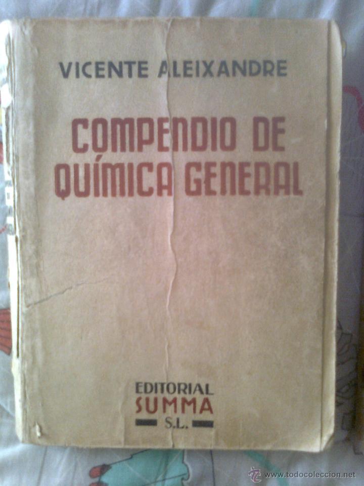 COMPENDIO DE QUÍMICA GENERAL (Libros de Segunda Mano - Ciencias, Manuales y Oficios - Física, Química y Matemáticas)