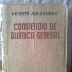 Libros de segunda mano de Ciencias: COMPENDIO DE QUÍMICA GENERAL. Lote 50337178