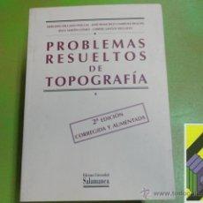 Libros de segunda mano: VARIOS AUTORES: PROBLEMAS RESUELTOS DE TOPOGRAFÍA. Lote 50554933