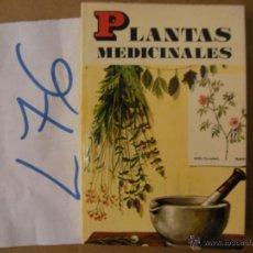Libros de segunda mano: ANTIGUO LIBRO - PLANTAS MEDICINALES. Lote 50562432