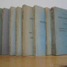 Libros de segunda mano: INSTITUTO GEOLOGICO Y MINERO DE ESPAÑA 7 TOMOS. MAPA GEOLOGICO DE ESPAÑA HOJA DE CANTILLANA. VER FOT. Lote 50677268
