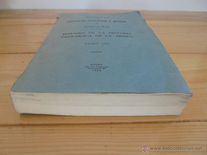 Libros de segunda mano: INSTITUTO GEOLOGICO Y MINERO DE ESPAÑA 7 TOMOS. MAPA GEOLOGICO DE ESPAÑA HOJA DE CANTILLANA. VER FOT - Foto 6 - 50677268