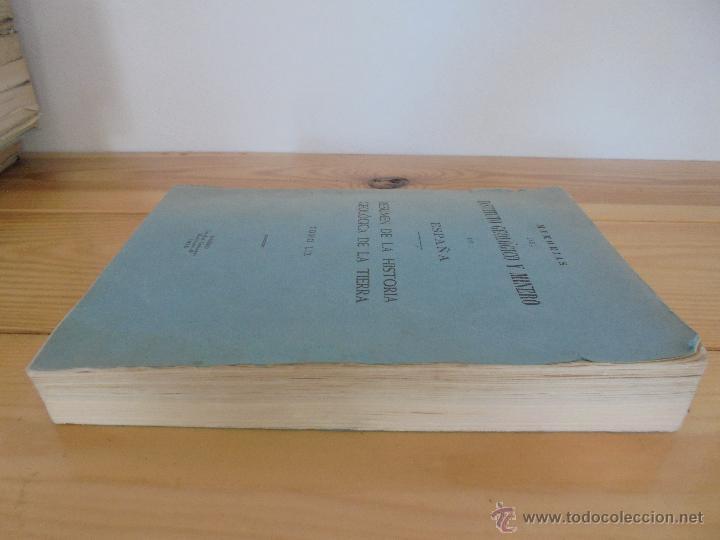 Libros de segunda mano: INSTITUTO GEOLOGICO Y MINERO DE ESPAÑA 7 TOMOS. MAPA GEOLOGICO DE ESPAÑA HOJA DE CANTILLANA. VER FOT - Foto 8 - 50677268