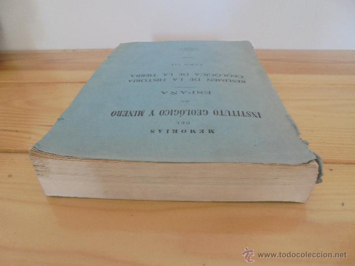 Libros de segunda mano: INSTITUTO GEOLOGICO Y MINERO DE ESPAÑA 7 TOMOS. MAPA GEOLOGICO DE ESPAÑA HOJA DE CANTILLANA. VER FOT - Foto 10 - 50677268