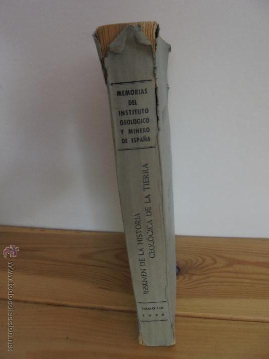 Libros de segunda mano: INSTITUTO GEOLOGICO Y MINERO DE ESPAÑA 7 TOMOS. MAPA GEOLOGICO DE ESPAÑA HOJA DE CANTILLANA. VER FOT - Foto 12 - 50677268