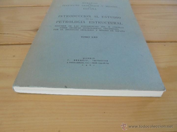Libros de segunda mano: INSTITUTO GEOLOGICO Y MINERO DE ESPAÑA 7 TOMOS. MAPA GEOLOGICO DE ESPAÑA HOJA DE CANTILLANA. VER FOT - Foto 31 - 50677268