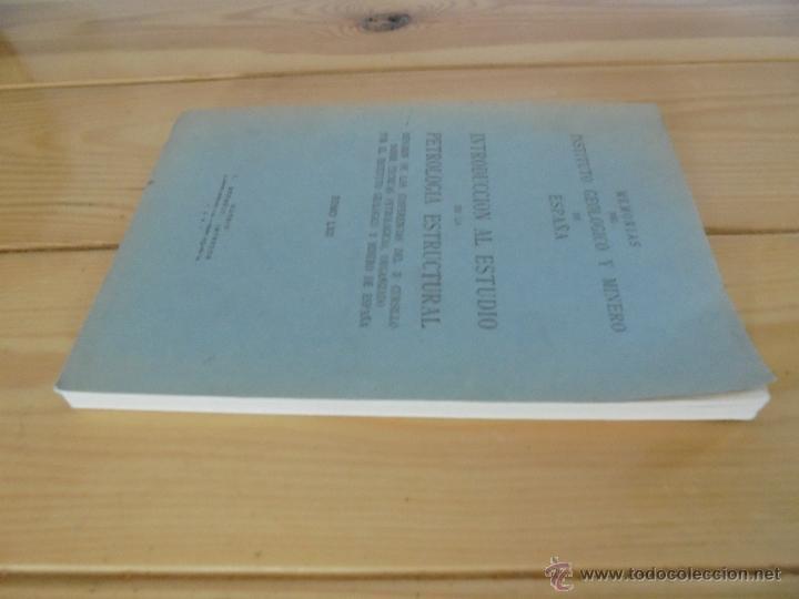 Libros de segunda mano: INSTITUTO GEOLOGICO Y MINERO DE ESPAÑA 7 TOMOS. MAPA GEOLOGICO DE ESPAÑA HOJA DE CANTILLANA. VER FOT - Foto 33 - 50677268