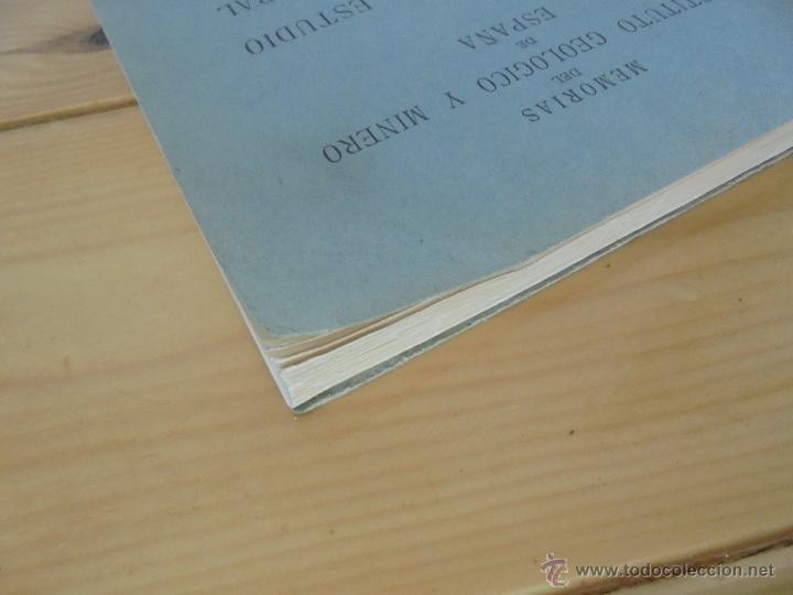 Libros de segunda mano: INSTITUTO GEOLOGICO Y MINERO DE ESPAÑA 7 TOMOS. MAPA GEOLOGICO DE ESPAÑA HOJA DE CANTILLANA. VER FOT - Foto 34 - 50677268