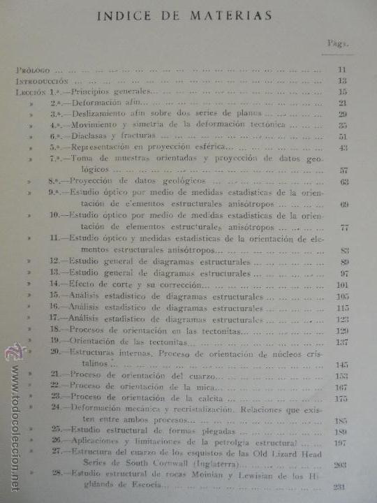 Libros de segunda mano: INSTITUTO GEOLOGICO Y MINERO DE ESPAÑA 7 TOMOS. MAPA GEOLOGICO DE ESPAÑA HOJA DE CANTILLANA. VER FOT - Foto 39 - 50677268