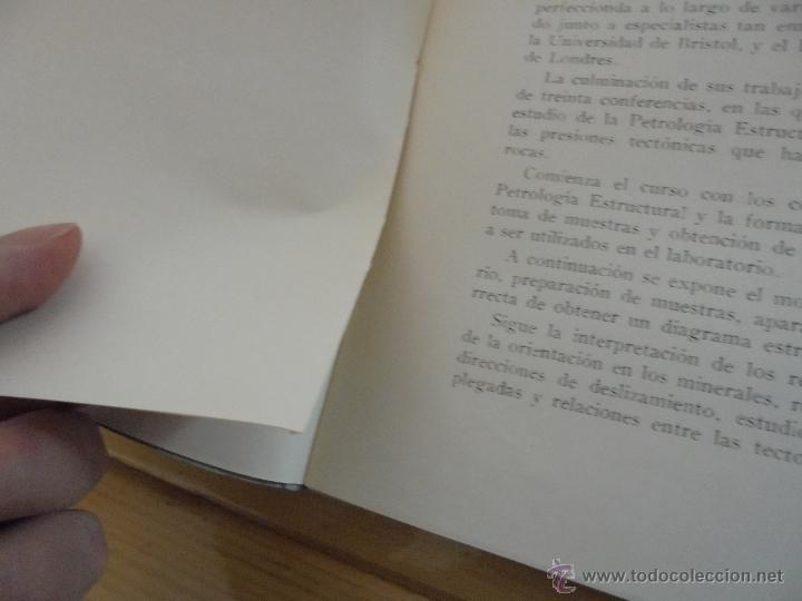 Libros de segunda mano: INSTITUTO GEOLOGICO Y MINERO DE ESPAÑA 7 TOMOS. MAPA GEOLOGICO DE ESPAÑA HOJA DE CANTILLANA. VER FOT - Foto 40 - 50677268