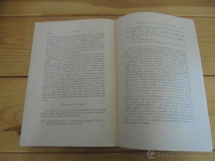 Libros de segunda mano: INSTITUTO GEOLOGICO Y MINERO DE ESPAÑA 7 TOMOS. MAPA GEOLOGICO DE ESPAÑA HOJA DE CANTILLANA. VER FOT - Foto 45 - 50677268