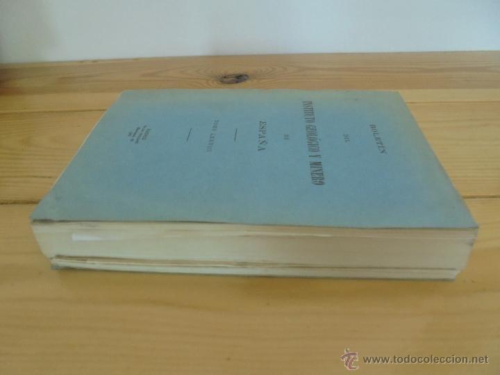 Libros de segunda mano: INSTITUTO GEOLOGICO Y MINERO DE ESPAÑA 7 TOMOS. MAPA GEOLOGICO DE ESPAÑA HOJA DE CANTILLANA. VER FOT - Foto 51 - 50677268