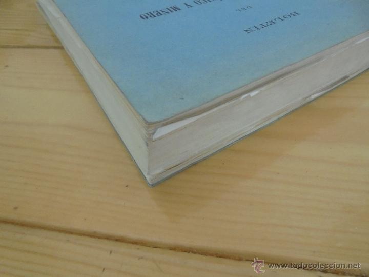 Libros de segunda mano: INSTITUTO GEOLOGICO Y MINERO DE ESPAÑA 7 TOMOS. MAPA GEOLOGICO DE ESPAÑA HOJA DE CANTILLANA. VER FOT - Foto 52 - 50677268