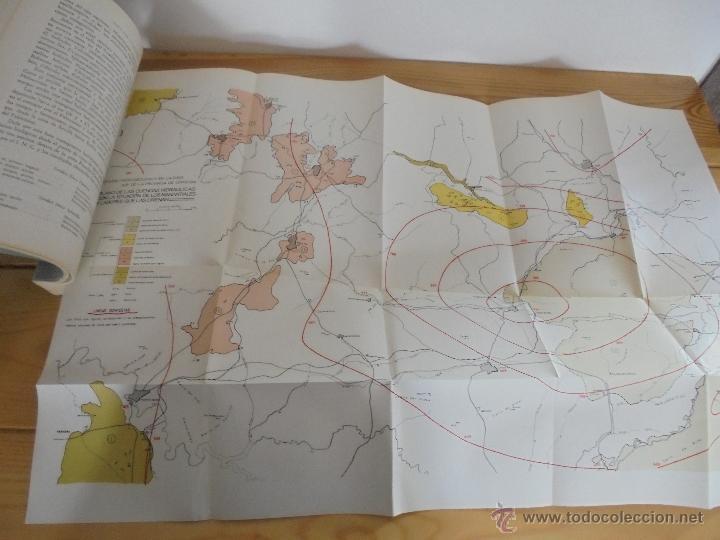 Libros de segunda mano: INSTITUTO GEOLOGICO Y MINERO DE ESPAÑA 7 TOMOS. MAPA GEOLOGICO DE ESPAÑA HOJA DE CANTILLANA. VER FOT - Foto 60 - 50677268