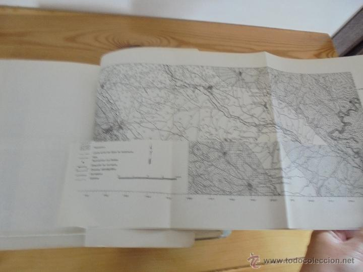 Libros de segunda mano: INSTITUTO GEOLOGICO Y MINERO DE ESPAÑA 7 TOMOS. MAPA GEOLOGICO DE ESPAÑA HOJA DE CANTILLANA. VER FOT - Foto 63 - 50677268