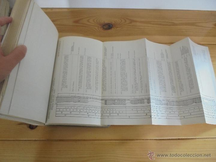 Libros de segunda mano: INSTITUTO GEOLOGICO Y MINERO DE ESPAÑA 7 TOMOS. MAPA GEOLOGICO DE ESPAÑA HOJA DE CANTILLANA. VER FOT - Foto 65 - 50677268