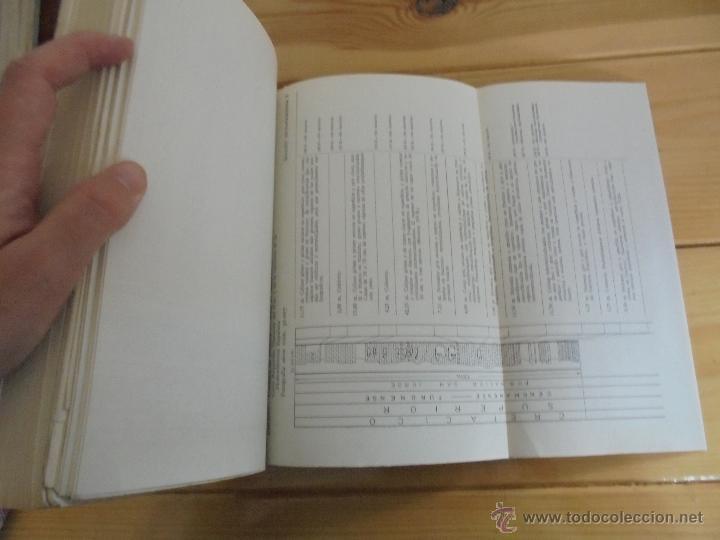 Libros de segunda mano: INSTITUTO GEOLOGICO Y MINERO DE ESPAÑA 7 TOMOS. MAPA GEOLOGICO DE ESPAÑA HOJA DE CANTILLANA. VER FOT - Foto 66 - 50677268