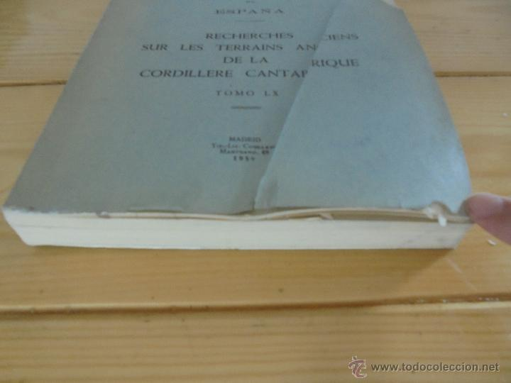 Libros de segunda mano: INSTITUTO GEOLOGICO Y MINERO DE ESPAÑA 7 TOMOS. MAPA GEOLOGICO DE ESPAÑA HOJA DE CANTILLANA. VER FOT - Foto 70 - 50677268