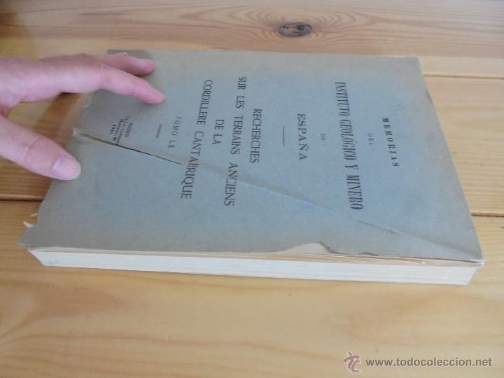 Libros de segunda mano: INSTITUTO GEOLOGICO Y MINERO DE ESPAÑA 7 TOMOS. MAPA GEOLOGICO DE ESPAÑA HOJA DE CANTILLANA. VER FOT - Foto 71 - 50677268