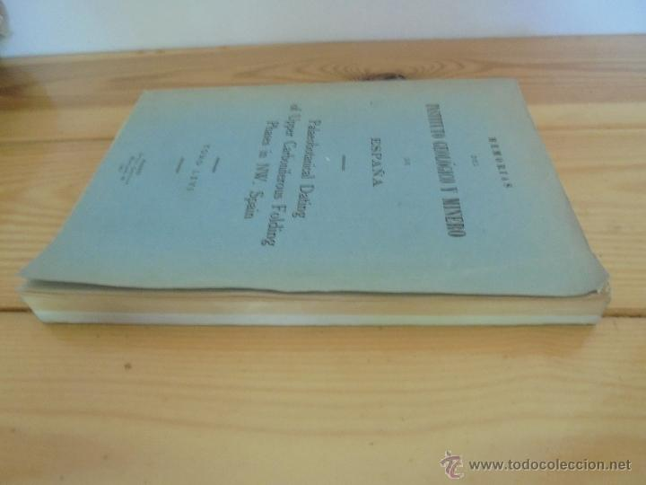 Libros de segunda mano: INSTITUTO GEOLOGICO Y MINERO DE ESPAÑA 7 TOMOS. MAPA GEOLOGICO DE ESPAÑA HOJA DE CANTILLANA. VER FOT - Foto 88 - 50677268