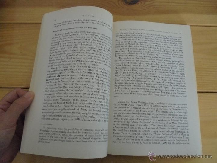 Libros de segunda mano: INSTITUTO GEOLOGICO Y MINERO DE ESPAÑA 7 TOMOS. MAPA GEOLOGICO DE ESPAÑA HOJA DE CANTILLANA. VER FOT - Foto 97 - 50677268