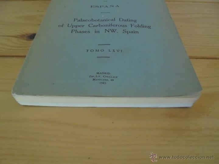 Libros de segunda mano: INSTITUTO GEOLOGICO Y MINERO DE ESPAÑA 7 TOMOS. MAPA GEOLOGICO DE ESPAÑA HOJA DE CANTILLANA. VER FOT - Foto 111 - 50677268