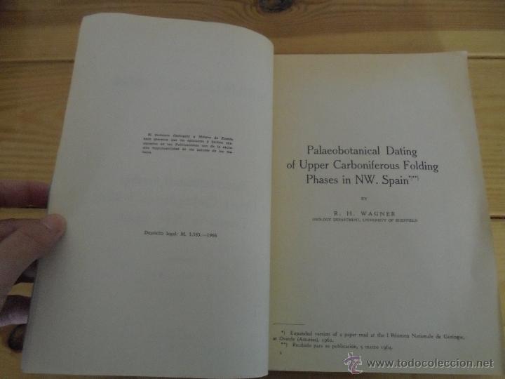 Libros de segunda mano: INSTITUTO GEOLOGICO Y MINERO DE ESPAÑA 7 TOMOS. MAPA GEOLOGICO DE ESPAÑA HOJA DE CANTILLANA. VER FOT - Foto 116 - 50677268