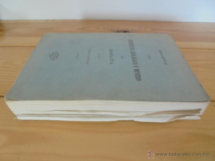 Libros de segunda mano: INSTITUTO GEOLOGICO Y MINERO DE ESPAÑA 7 TOMOS. MAPA GEOLOGICO DE ESPAÑA HOJA DE CANTILLANA. VER FOT - Foto 129 - 50677268