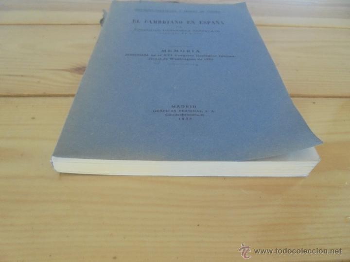 Libros de segunda mano: INSTITUTO GEOLOGICO Y MINERO DE ESPAÑA 7 TOMOS. MAPA GEOLOGICO DE ESPAÑA HOJA DE CANTILLANA. VER FOT - Foto 144 - 50677268