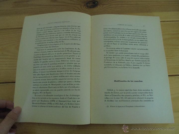 Libros de segunda mano: INSTITUTO GEOLOGICO Y MINERO DE ESPAÑA 7 TOMOS. MAPA GEOLOGICO DE ESPAÑA HOJA DE CANTILLANA. VER FOT - Foto 151 - 50677268