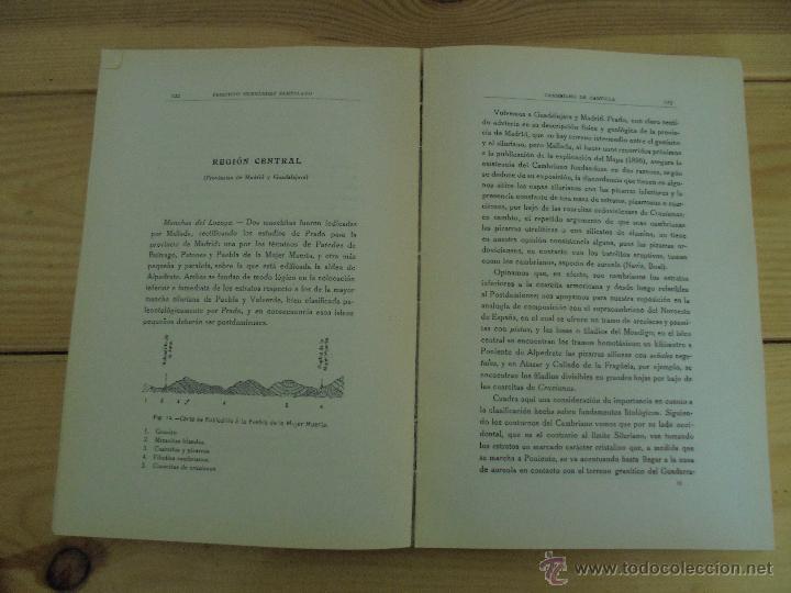 Libros de segunda mano: INSTITUTO GEOLOGICO Y MINERO DE ESPAÑA 7 TOMOS. MAPA GEOLOGICO DE ESPAÑA HOJA DE CANTILLANA. VER FOT - Foto 152 - 50677268
