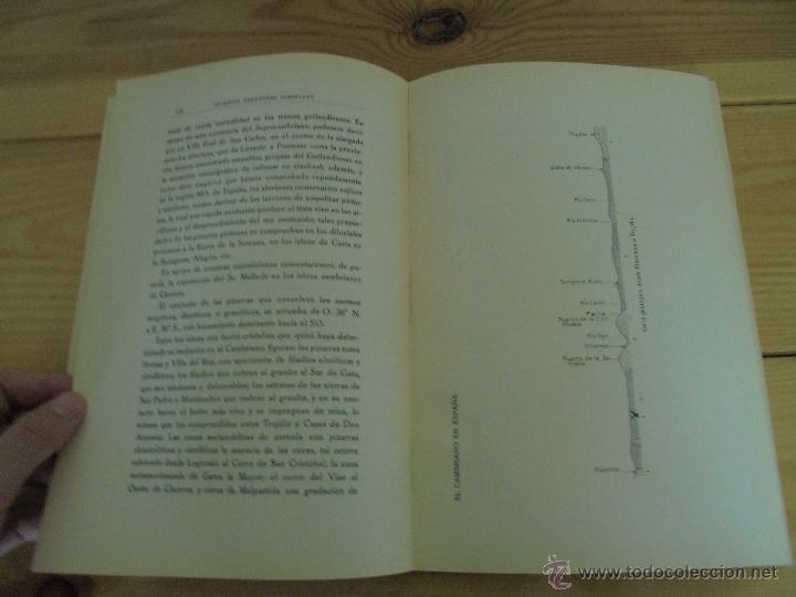 Libros de segunda mano: INSTITUTO GEOLOGICO Y MINERO DE ESPAÑA 7 TOMOS. MAPA GEOLOGICO DE ESPAÑA HOJA DE CANTILLANA. VER FOT - Foto 153 - 50677268