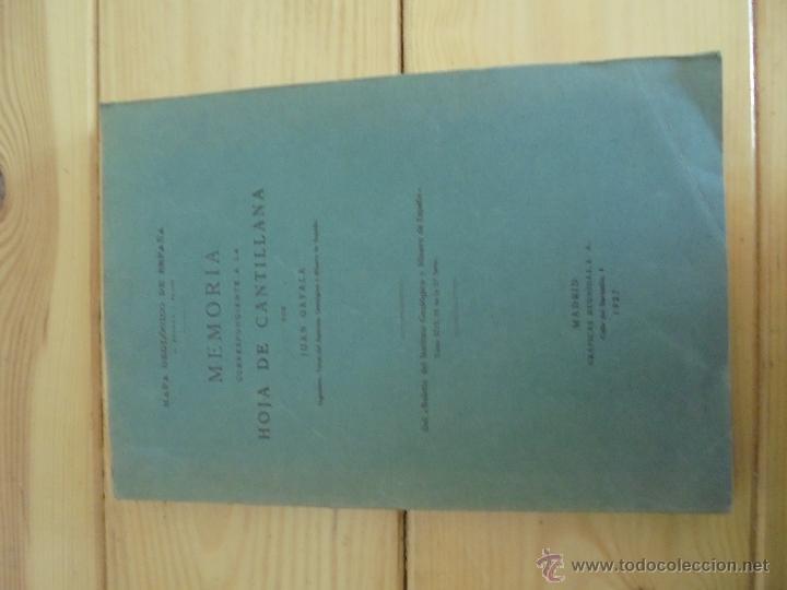 Libros de segunda mano: INSTITUTO GEOLOGICO Y MINERO DE ESPAÑA 7 TOMOS. MAPA GEOLOGICO DE ESPAÑA HOJA DE CANTILLANA. VER FOT - Foto 158 - 50677268
