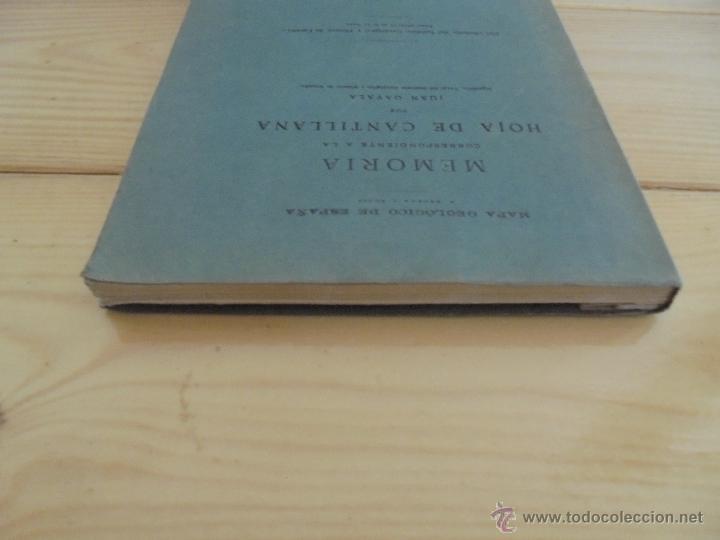Libros de segunda mano: INSTITUTO GEOLOGICO Y MINERO DE ESPAÑA 7 TOMOS. MAPA GEOLOGICO DE ESPAÑA HOJA DE CANTILLANA. VER FOT - Foto 162 - 50677268
