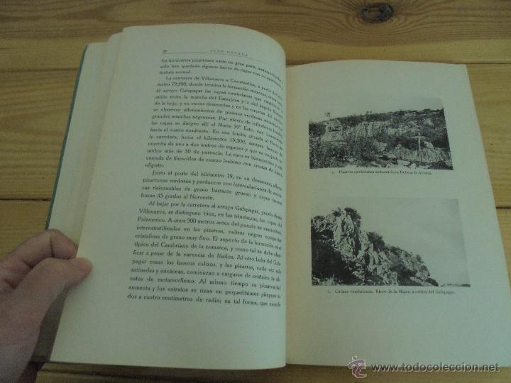 Libros de segunda mano: INSTITUTO GEOLOGICO Y MINERO DE ESPAÑA 7 TOMOS. MAPA GEOLOGICO DE ESPAÑA HOJA DE CANTILLANA. VER FOT - Foto 165 - 50677268