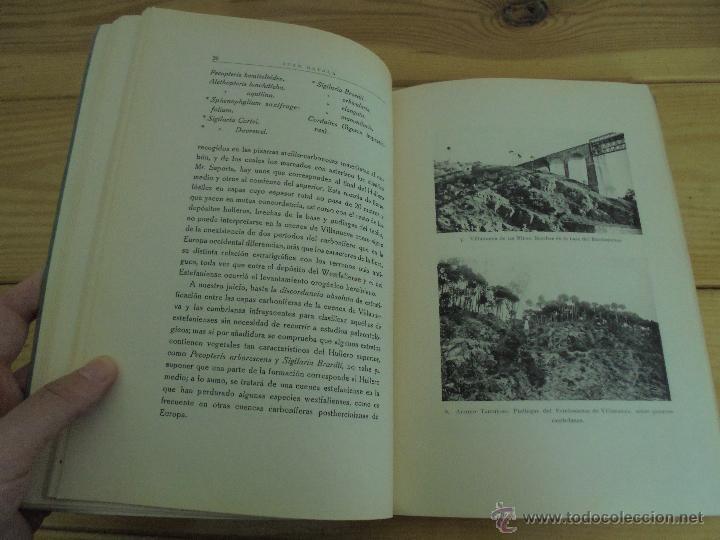Libros de segunda mano: INSTITUTO GEOLOGICO Y MINERO DE ESPAÑA 7 TOMOS. MAPA GEOLOGICO DE ESPAÑA HOJA DE CANTILLANA. VER FOT - Foto 166 - 50677268