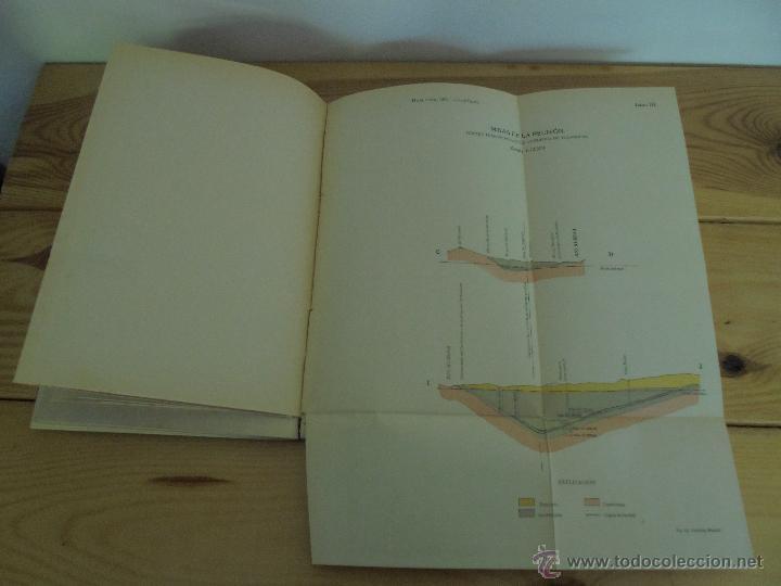 Libros de segunda mano: INSTITUTO GEOLOGICO Y MINERO DE ESPAÑA 7 TOMOS. MAPA GEOLOGICO DE ESPAÑA HOJA DE CANTILLANA. VER FOT - Foto 170 - 50677268
