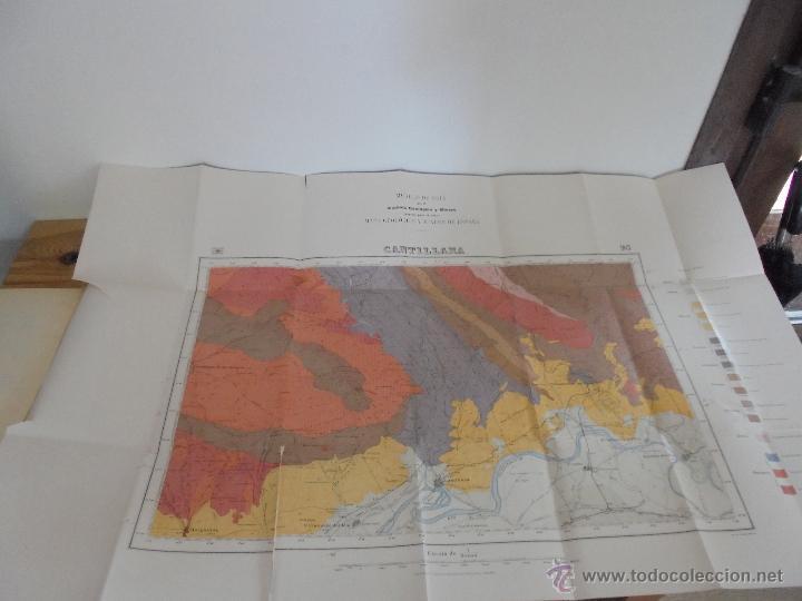 Libros de segunda mano: INSTITUTO GEOLOGICO Y MINERO DE ESPAÑA 7 TOMOS. MAPA GEOLOGICO DE ESPAÑA HOJA DE CANTILLANA. VER FOT - Foto 171 - 50677268