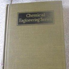 Libros de segunda mano de Ciencias: CHEMICAL ENGINEERING SERIES INTRODUCCIÓN TO NUCLEAR ENGINEERING RICHARD STEPHNSON AÑO 1954. Lote 50699642