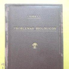 Libros de segunda mano: PROBLEMAS BIOLÓGICOS. P. JAIME PUJIULA. 1941.. Lote 50769544