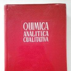 Libros de segunda mano de Ciencias: QUÍMICA ANALÍTICA CUALITATIVA - BURRIEL, LUCENA Y ARRIBAS - ED. PARANINFO - MADRID 1959 - 3ª EDICIÓN. Lote 50876737