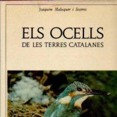 Libros de segunda mano: ELS OCELLS DE LES TERRES CATALANES - JOAQUIM MALUQUER I SOSTRES. EDITORIAL BARCINO, 1973. Lote 50931536