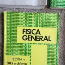 Libros de segunda mano de Ciencias: FISICA GENERAL. CAREL W. VAN DE MERWE. MCGRAW-HILL. MEXICO. 1969. Lote 50988018