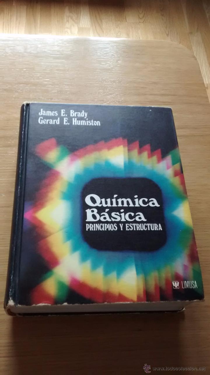 Química Básica Principios Y Estructura James Vendido En