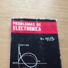 Libros de segunda mano de Ciencias: PROBLEMAS DE ELECTRÓNICA CON SOLUCIONES; ROBERT GUILLIEN. Lote 44764022