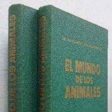 Libros de segunda mano: EL MUNDO DE LO ANIMALES - 2 TOMOS ED. TORAY. Lote 51104657