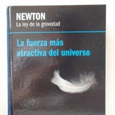 Libros de segunda mano de Ciencias: DURÁN, ANTONIO: NEWTON. LA LEY DE LA GRAVEDAD (RBA) (CB). Lote 51146147