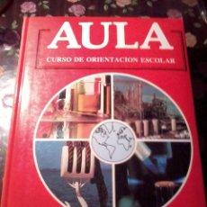 Libros de segunda mano de Ciencias: AULA CURSO DE ORIENTACIÓN ESCOLAR FISICA Y QUIMICA.EST11B2. Lote 51391280