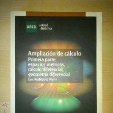 Libros de segunda mano de Ciencias: AMPLIACIÓN DE CÁLCULO. UNED. Lote 51428796