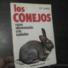Libros de segunda mano: LOS CONEJOS CHARD RAZAS ALIMENTACION CRIA CUIDADOS BIOLOGIA. Lote 51726284